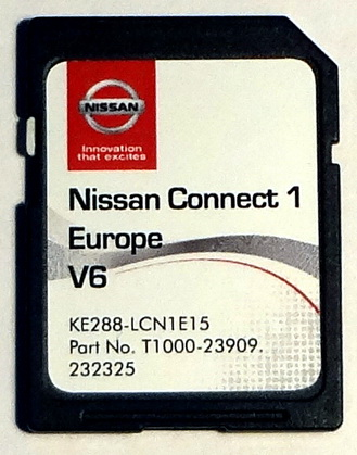 sd card latest map europe for nissan connect 3 lcn2 v2 ke288 lcnkev2 2017 ebay. Black Bedroom Furniture Sets. Home Design Ideas